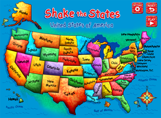 Shake the States | Third Chicken Inc